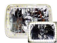 Pair of Equinox 7x6 Halo Headlights (H6054 H6014/H6052/ 6054)