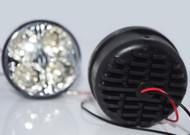 2 x Equinox 4-LED Round Daytime Running Light Driving Fog Lights