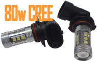 2 X 9006 HB4 Equinox CREE 80W High Power Stage 4 LEDS for Fog Lights