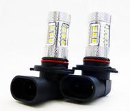 2 X H9 Equinox CREE 80W High Power Stage 4 LED Fog Lights