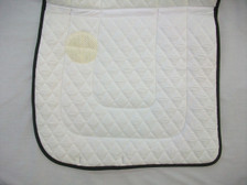 "Wilker's Style WC Dressage ""Winning Colors"" Saddle Pad Underview"