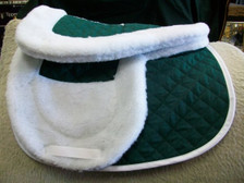 Matching Wilker's Wither Pad and Saddle Pad Set