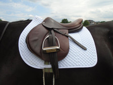Wilker's Style 19BC Schooling Show Saddle Pad Side View