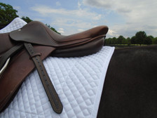 Wilker's Style 19BC Schooling Show Saddle Pad Back View