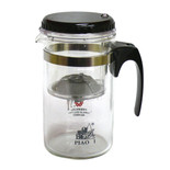 500ml Easy Push Button Strainer Tea Pot