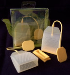 Reusable Loose Tea Bag--Lemon Yellow