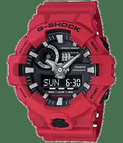 Casio G-shock Ana-Digi Super Illuminator Red/Black GA700-4A