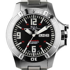 Ball Engineer Hydrocarbon Spacemaster Glow DM2036A-SCA-BK