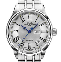 Ball Trainmaster Roman NM1058D-S4J-WH