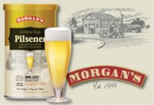 Morgans Golden Saaz Pilsener Beer Kit   Item Number: H871