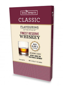 Still Spirits Classic Finest Reserve Whiskey Flavouring (2x 1.125L)