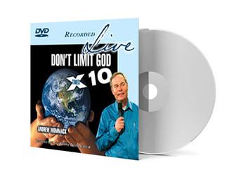 DVD Live Album - Don't Limit God X 10