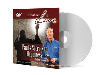DVD LIVE Album - Paul's Secrets To Happiness
