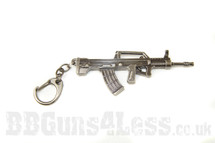l85 sa80 Keyring in solid metal