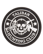 Tactical Patch Taliban Patch in Black