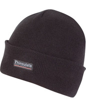 Thinsulate Bob Hat in Black