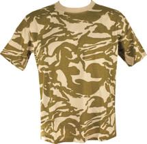 Kombat T-shirt in British Desert camo