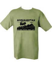 Kombat Afghanistan army T shirt