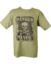 Kombat Danger Mines T-Shirt