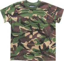 Kombat Kids T-shirt British dpm camo