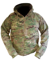Kombat Army Hoodie in UTP Fleece Multicam Jacket