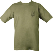 Kombat SAS T-Shirt Who Dares Wins in Green