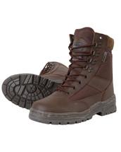 Kombat Patrol Boots Half Leather in Brown