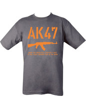 Kombat AK47 T-Shirt in Grey