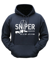 Kombat Out of Sight Sniper Hoodie in Black