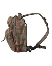 Kombat Mini Molle Recon Shoulder Bag - Green/Red