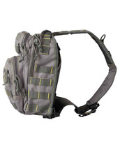 Kombat Mini Molle Recon Shoulder Bag - Grey/Yellow