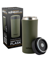 Kombat Ammo pouch flask in Olive Green