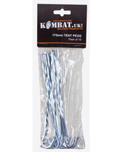 Kombat Tent Pegs 10 X 175mm Steel Tent Pegs