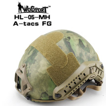 Wo Sport FAST Helmet-MH Type in A-tacs FG