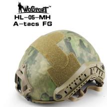 Wo Sport FAST Helmet-MH Type in Multi Cam