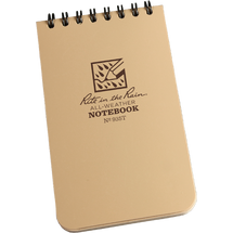 RITR Pocket Notebook Tan