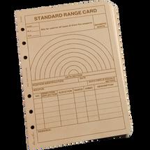 RITR Range Card Loose Leaf TAMS Paper