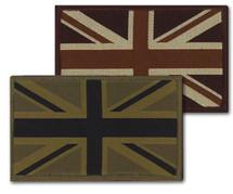 Velcro Union Jack Flashes