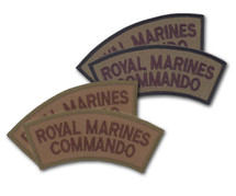 Royal Marine Commando Flashes