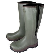 Jack Pyke Countryman Wellington Boots with side zip & 3mm Neoprene Lining