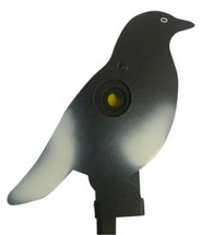 knockdown pigeon metal target with ground spike