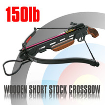 Anglo Arms Cerberus Crossbow Set 150lb in black wood