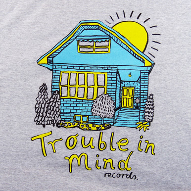 """Trouble In Mind Records """"The Bungalow"""" Tee shirt"""