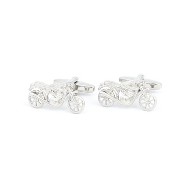 Motorbike Cufflinks - main view - University graduation gift