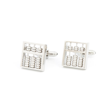 Abacus Cufflinks - main view - University graduation gift