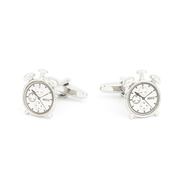 Stopwatch Cufflinks - main view - University graduation gift