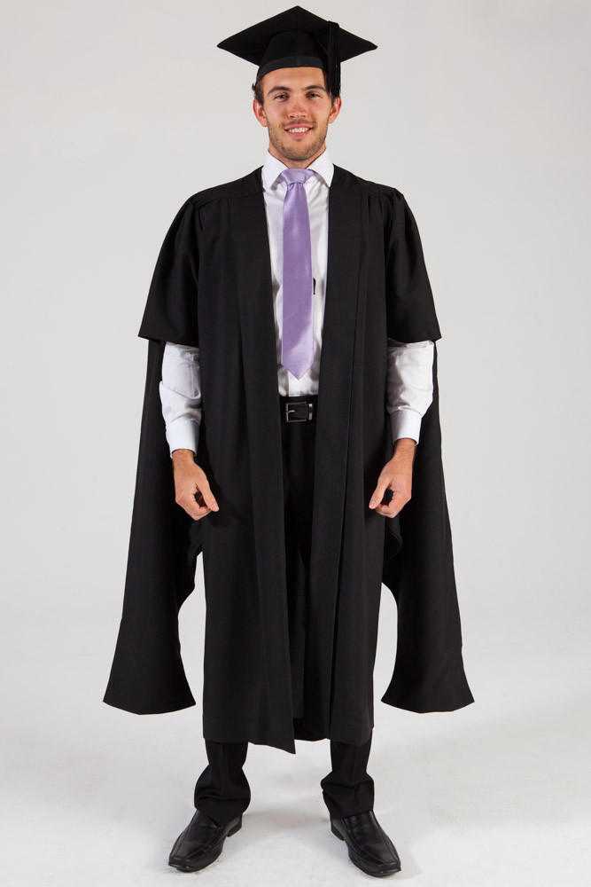 Masters Graduation Gown and Cap Set