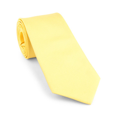 Classic Gold Necktie - main view - University graduation gift