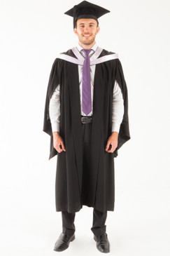 University of Tasmania Bachelor Graduation Gown Set - Medicine and Surgery - Front view