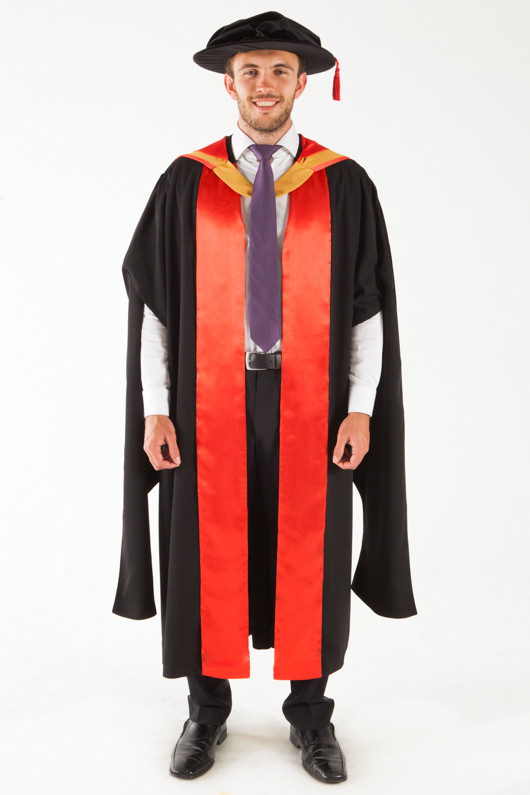 UNSW Doctor Graduation Gown Set - PhD | GownTown | Graduation Gowns